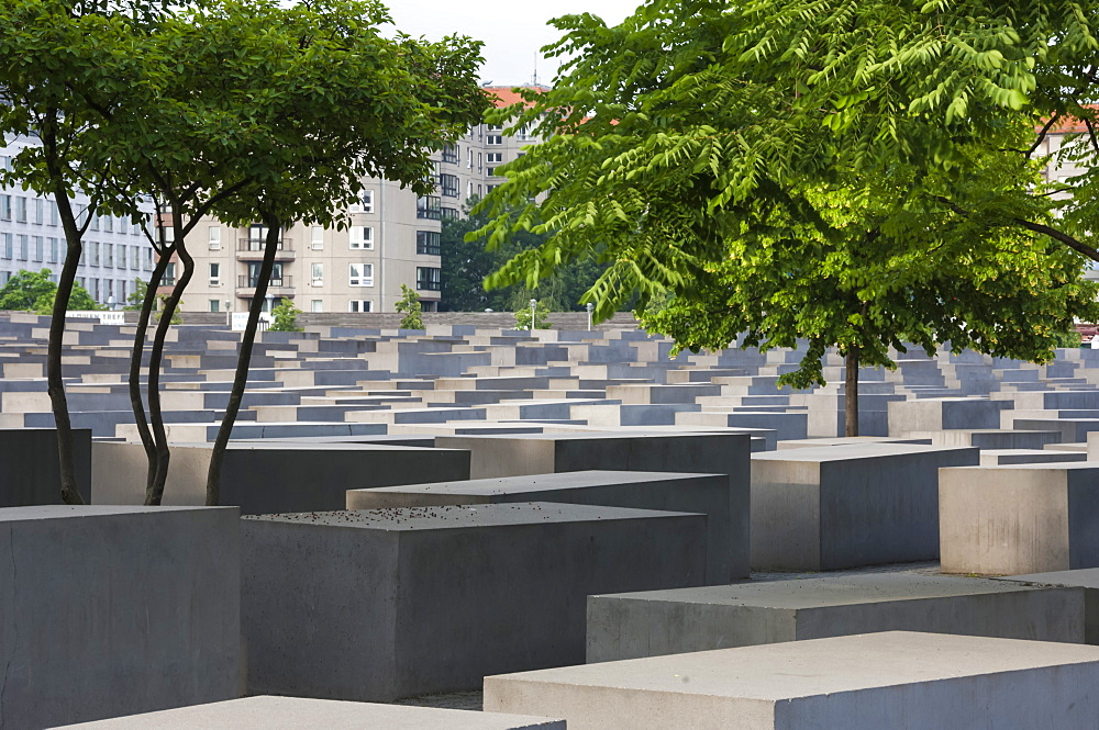 Holocaust Memorial to the Jews of Europe, Berlin, Germany, Europe - 747-1780