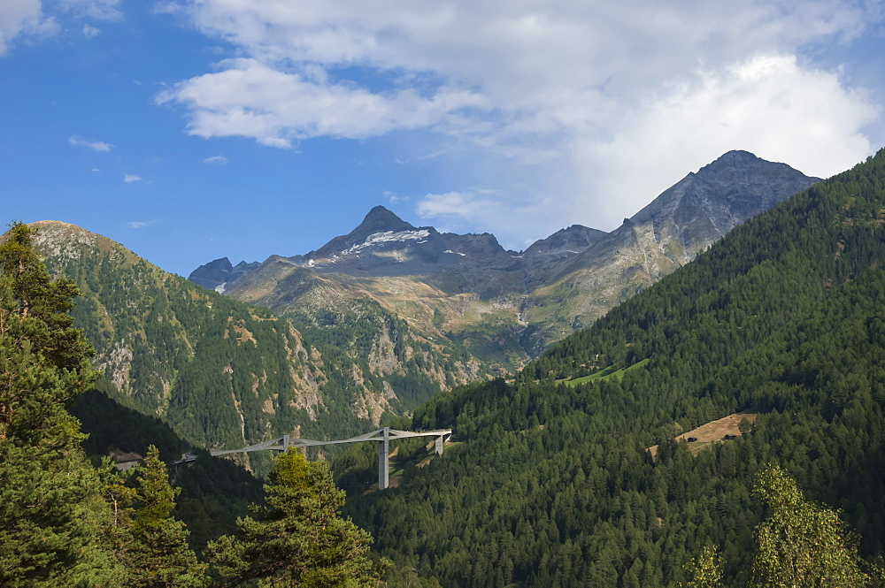 Ganter Bridge on the Simplon Pass, Switzerland, Europe - 747-1803