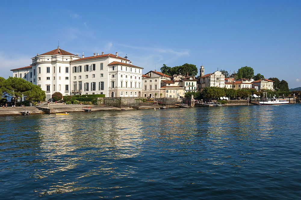 Royal Palace, Isola Bella, Borromean Islands, Lake Maggiore, Piedmont, Italian Lakes, Italy, Europe - 747-1816