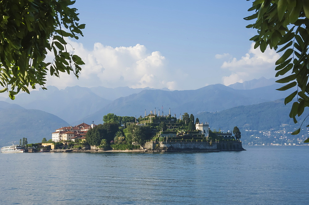 Isola Bella, Borromean Islands, Lake Maggiore, Italian Lakes, Piedmont, Italy, Europe - 747-1817