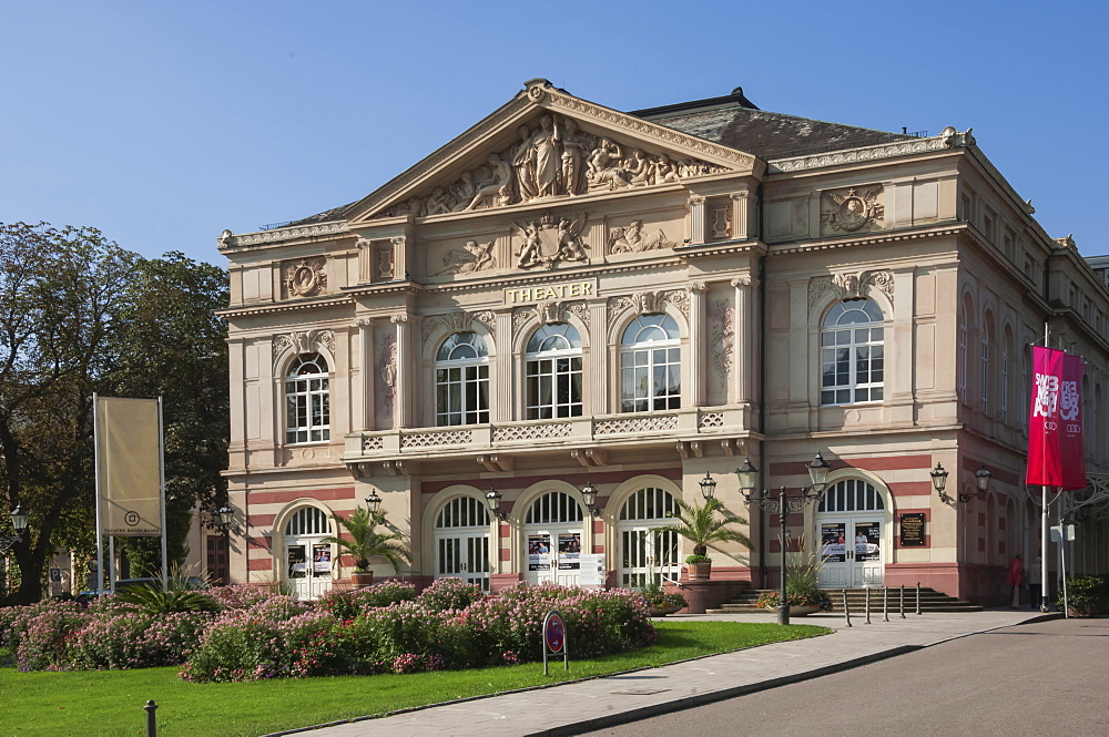 City Theatre, Baden Baden, Black Forest, Baden-Wurttemberg, Germany, Europe - 747-1836