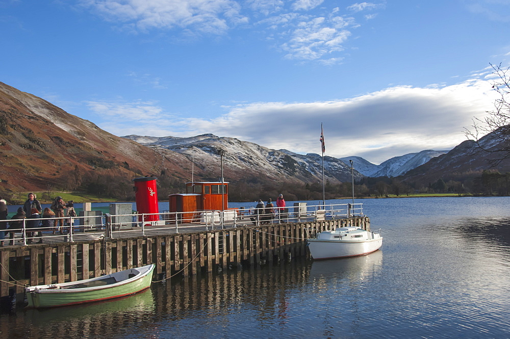 Glenridding Boat Landing, Lake Ullswater, Lake District National Park, Cumbria, England, United Kingdom, Europe - 747-1860