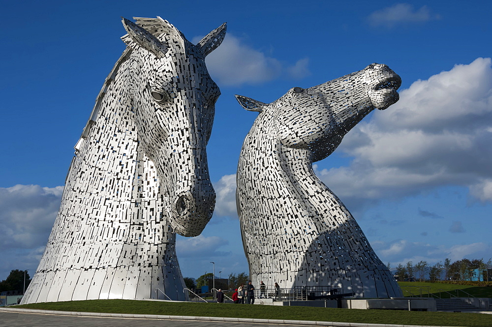 Kelpies, Helix Park, Forth and Clyde Canal, Scotland, United Kingdom, Europe