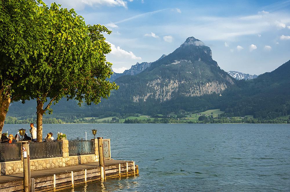 Wolfgangsee, St. Wolfgang, Austrian Lakes, Austria, Europe - 747-1939