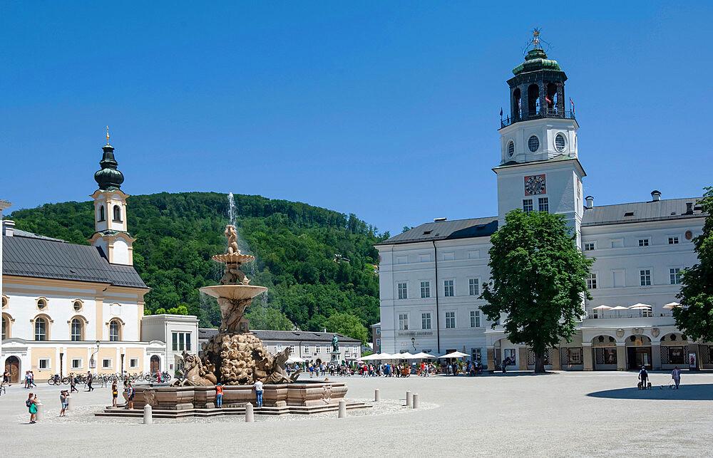 City Square, Museum, World Heritage Site, Salzburg, Austria, EU