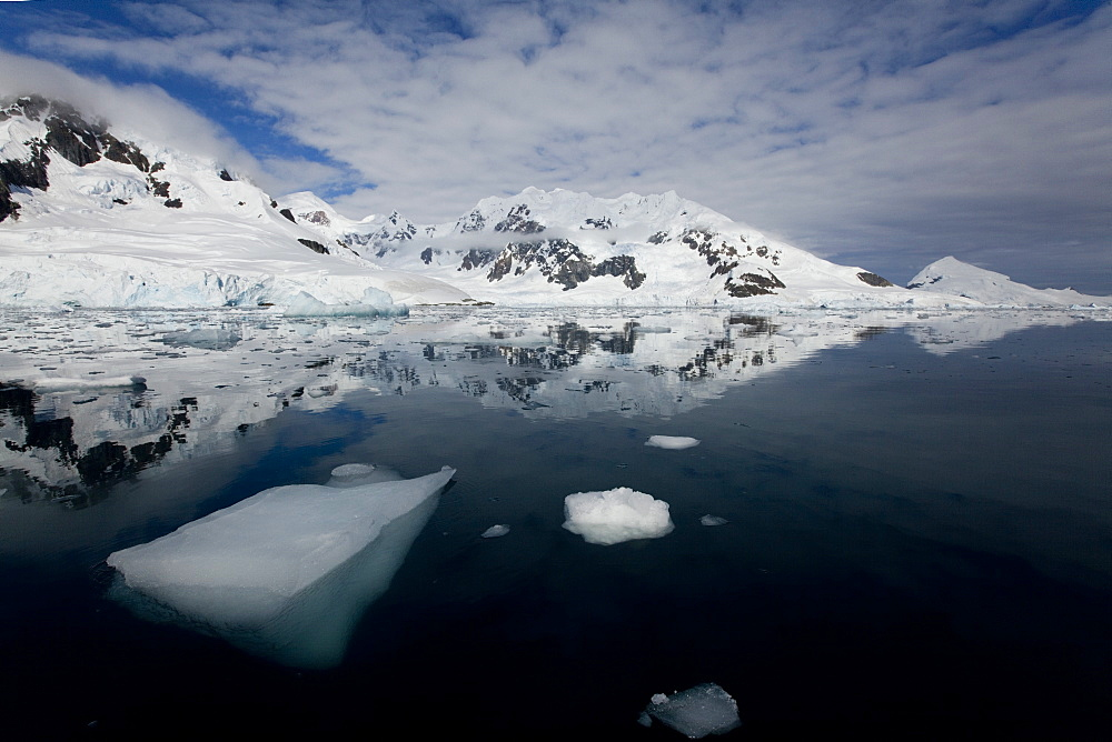 Glacier, Paradise Bay, Antarctic Peninsula, Antarctica, Polar Regions - 748-1224