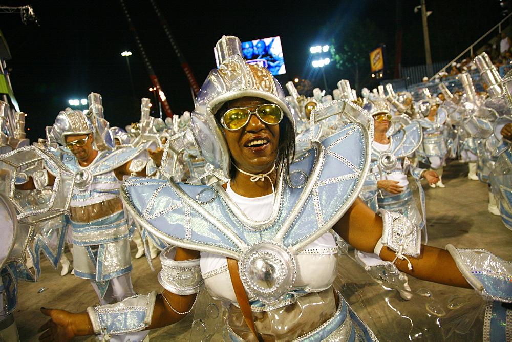 Carnival parade at the Sambodrome, Rio de Janeiro, Brazil, South America - 749-1101