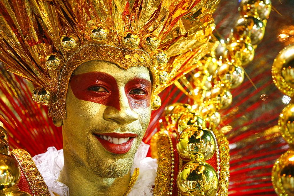 Carnival parade at the Sambodrome, Rio de Janeiro, Brazil, South America - 749-1102