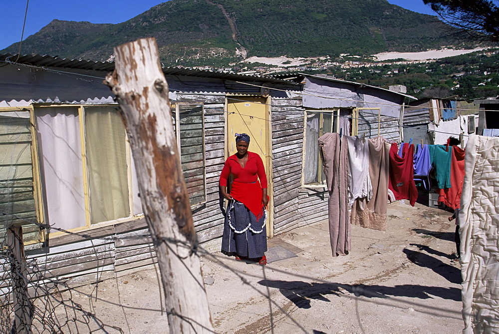 Woman at the Cape Flats, Cape Town, South Africa, Africa - 749-112