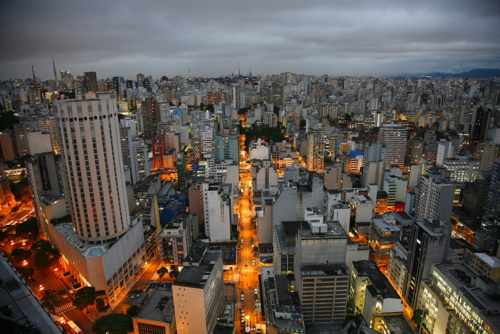 Skyline of Sao Paulo, Brazil, South America  - 749-1230