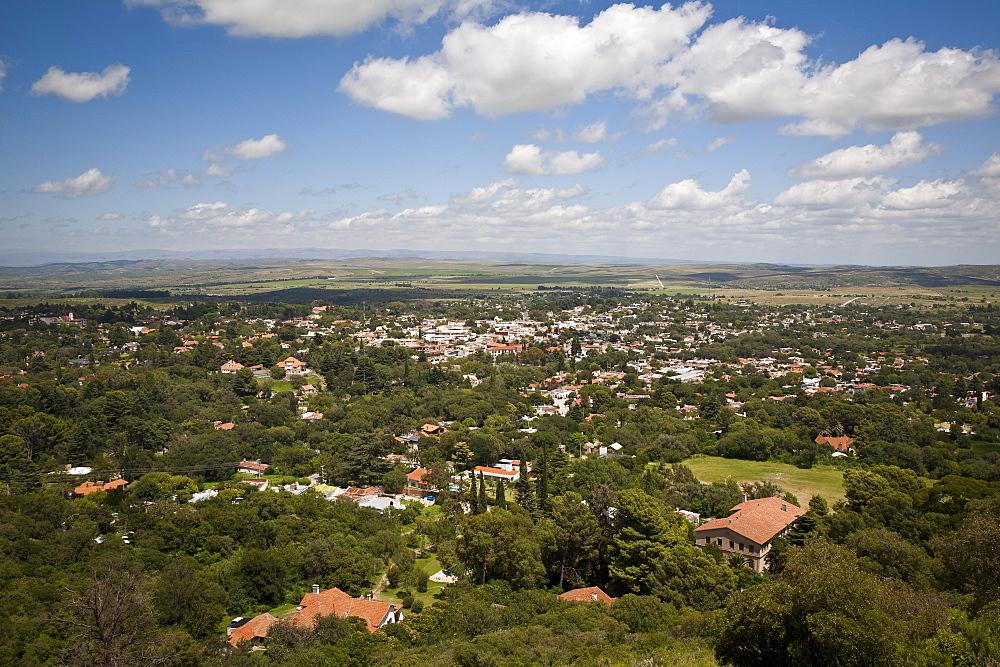 View over La Cumbre, Cordoba Province, Argentina, South America