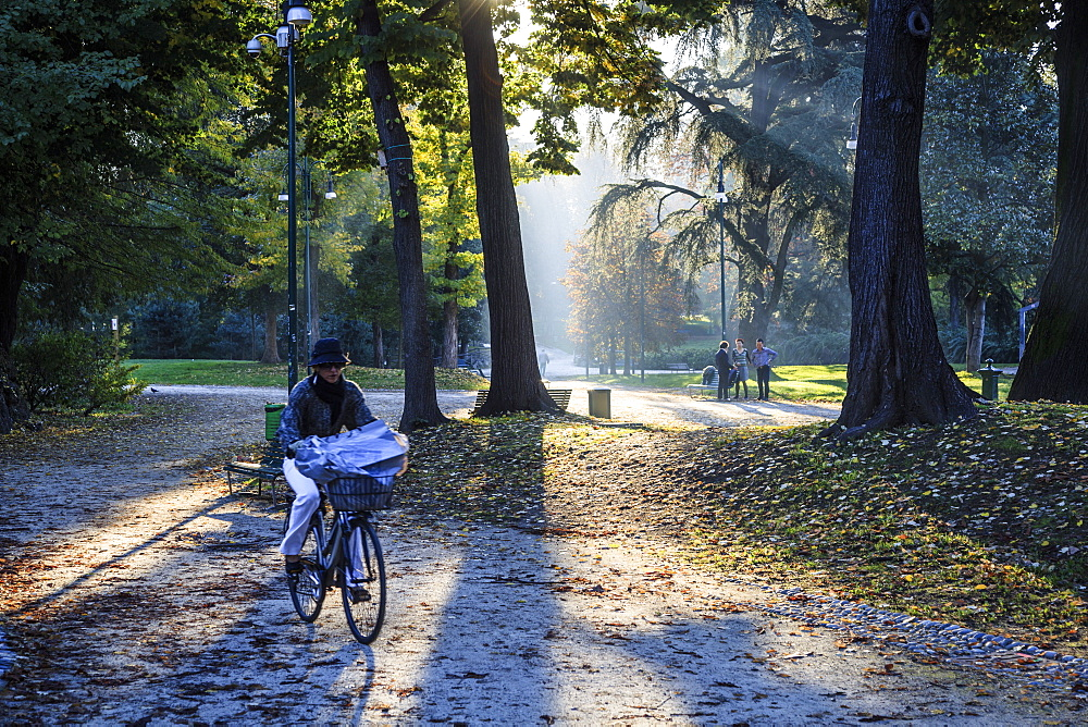 Sempione Park, Milan, Lombardy, Italy, Europe