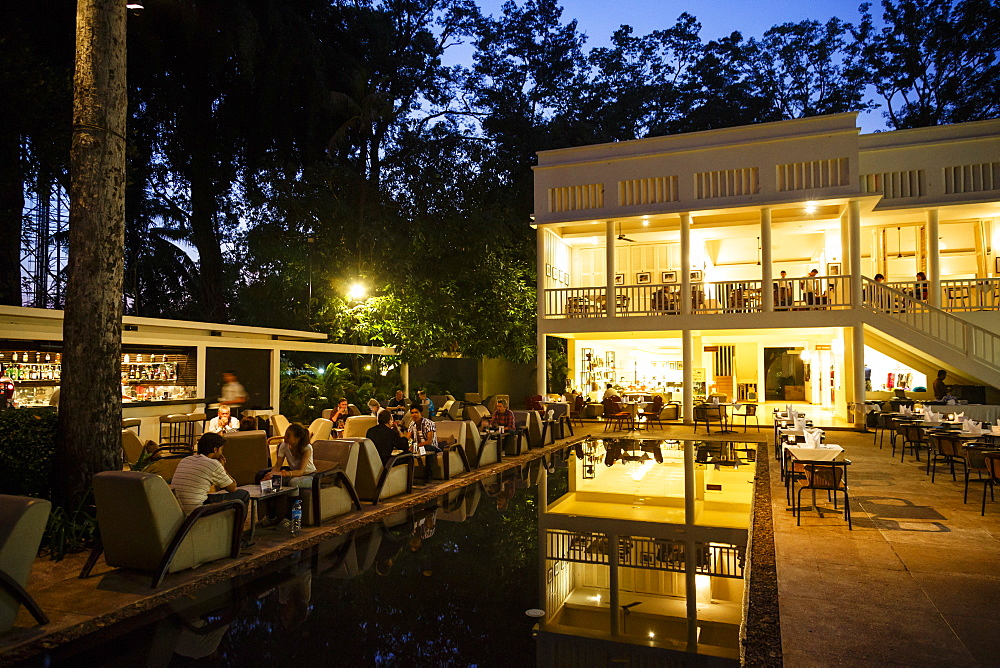 The FCC Angkor, Foreign Correspondents Club, hotel and restaurant, Siem Reap, Cambodia, Indochina, Southeast Asia, Asia