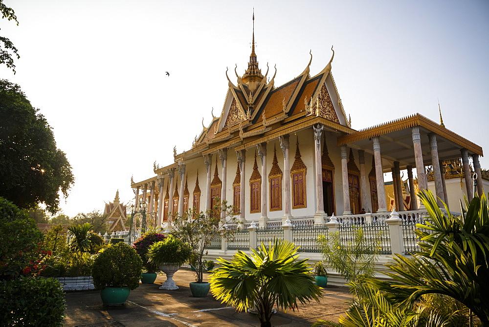 The Silver Pagoda, Royal Palace, Phnom Penh, Cambodia, Indochina, Southeast Asia, Asia