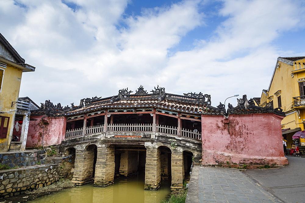 Japanese covered bridge, UNESCO World Heritage Site, Hoi An, Vietnam, Indochina, Southeast Asia, Asia