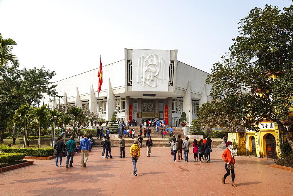Ho Chi Minh Museum, Hanoi, Vietnam, Indochina, Southeast Asia, Asia