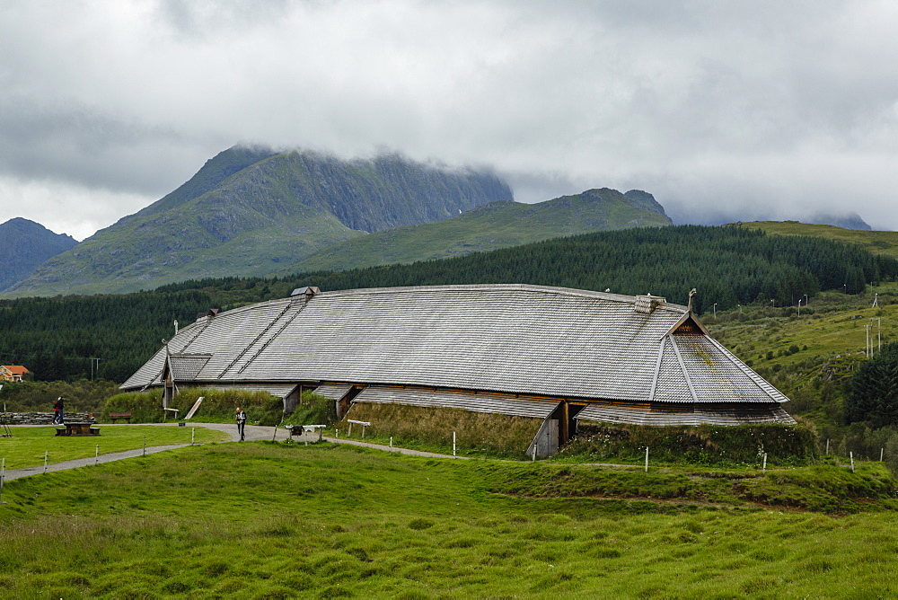 The Viking Museum, Borg, Lofoten Islands, Arctic, Norway, Scandinavia, Europe