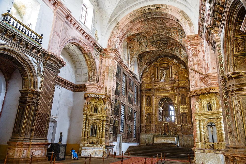 St. Francis of Assisi church, UNESCO World Heritage Site, Old Goa, Goa, India, Asia