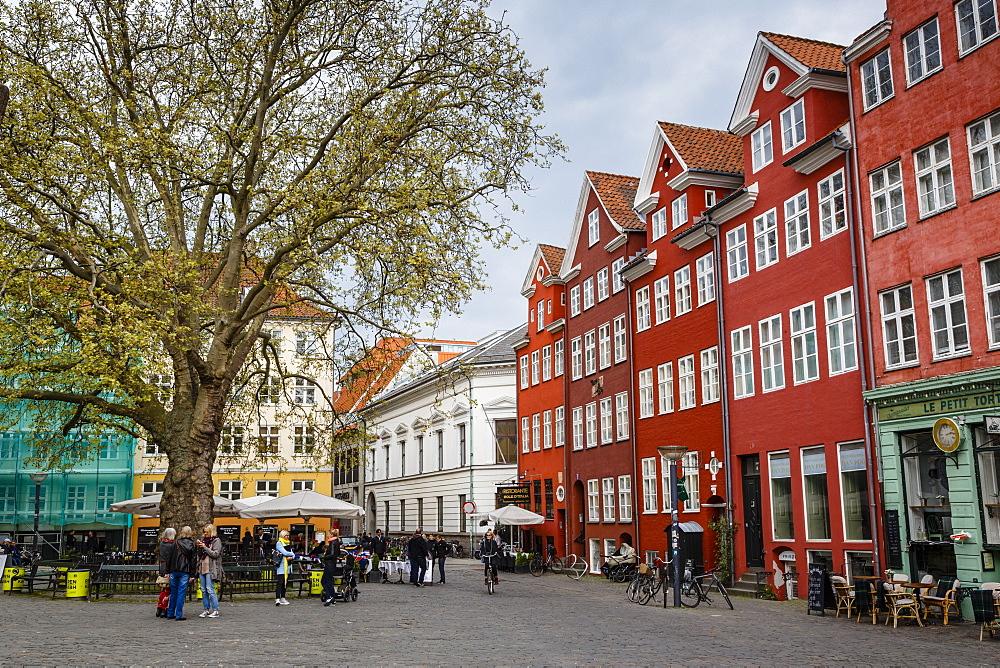 Houses at Grabrodretorv, Copenhagen, Denmark, Scandinavia, Europe
