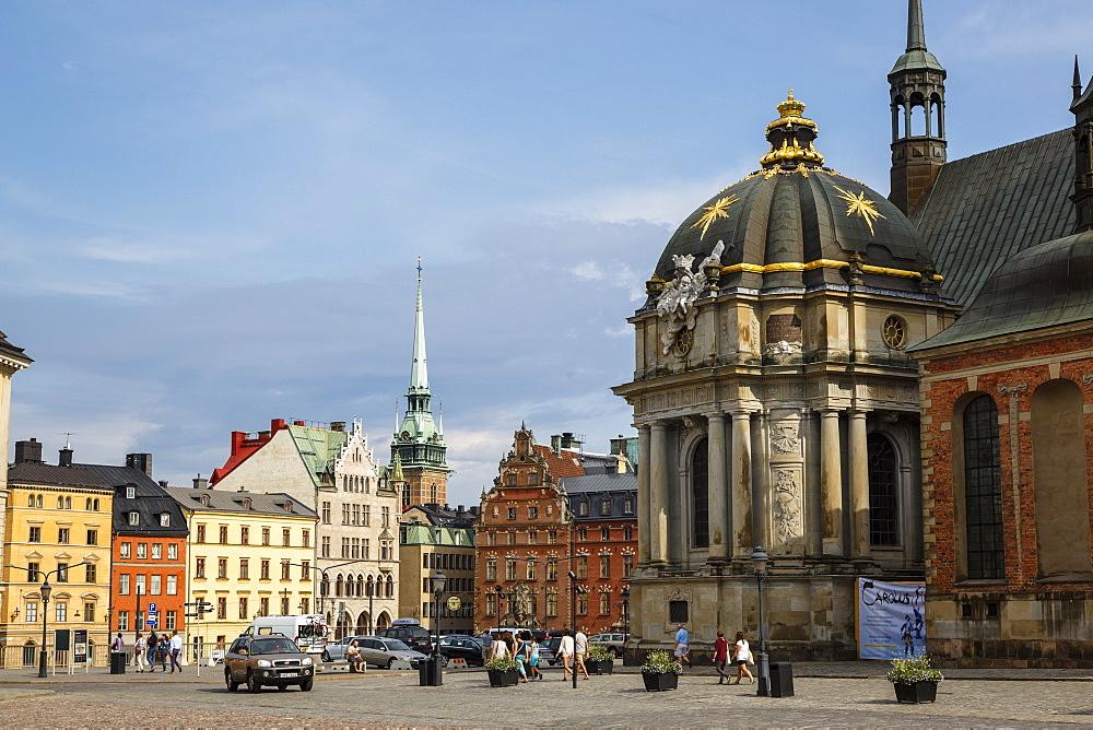 Riddarholmskyrkan (Riddarholms church) on Riddarholmen Island, Stockholm, Sweden, Scandinavia, Europe