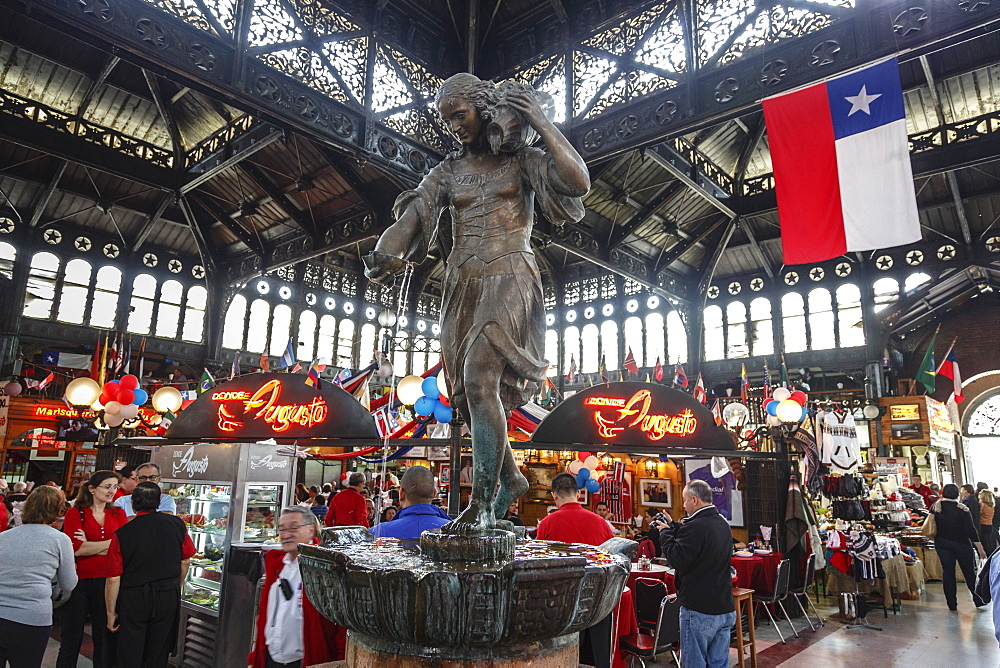 Mercado Central, Santiago, Chile, South America