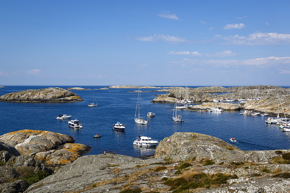 Vaderoarna, (The Weather Islands) archipelago, Bohuslan region, west coast, Sweden, Scandinavia, Europe