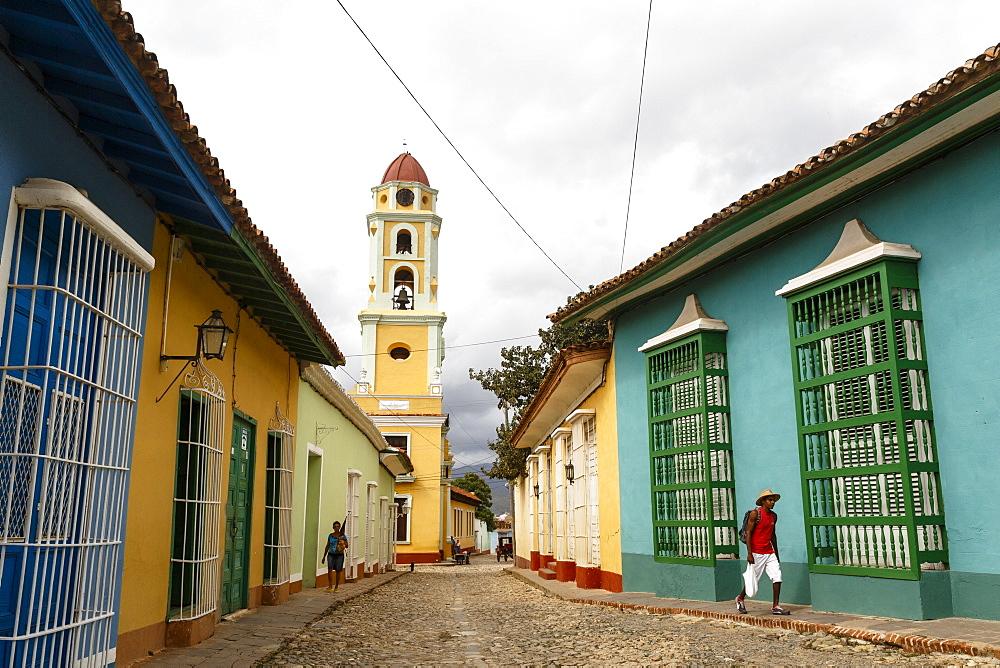 Museo Nacional de la Lucha, formerly Iglesia y Convento de San Francisco. Trinidad, UNESCO World Heritage Site, Sancti Spiritus Province, Cuba, West Indies, Caribbean, Central America