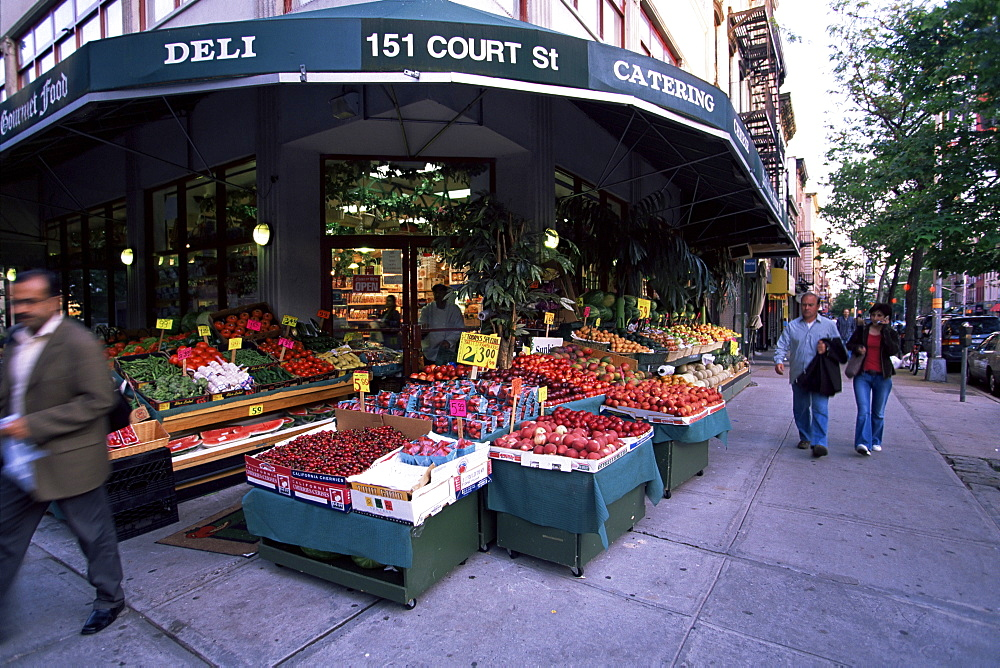 Grocery shop, Brooklyn, New York, New York State, United States of America, North America