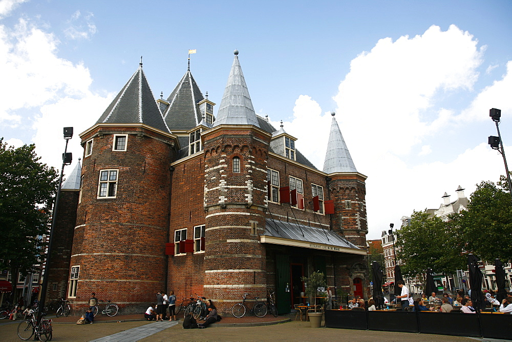 De Waag on Nieuwmarkt, Amsterdam, Holland, Europe