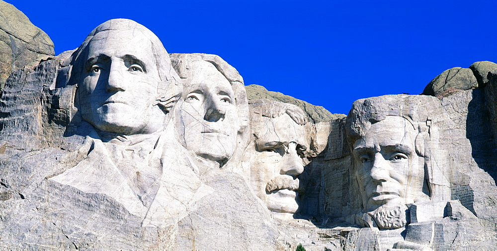 USA, South Dakota, Mount Rushmore - 752-455