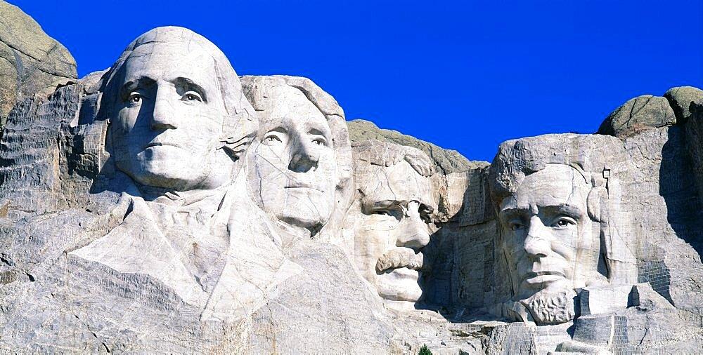 USA, South Dakota, Mount Rushmore - 752-455