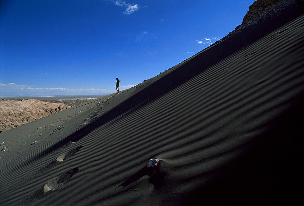 Valle de la Luna (Moon Valley), Atacama Desert, Chile, South America