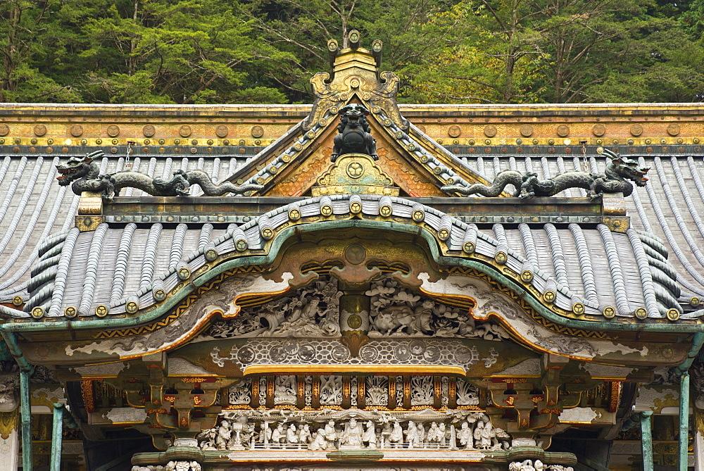 Main Hall, Tosho-gu Shrine, Nikko, Central Honshu (Chubu), Japan, Asia