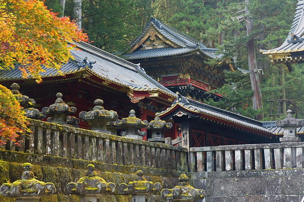 Taiyu-in Mausoleum, Nikko, Central Honshu (Chubu), Japan, Asia