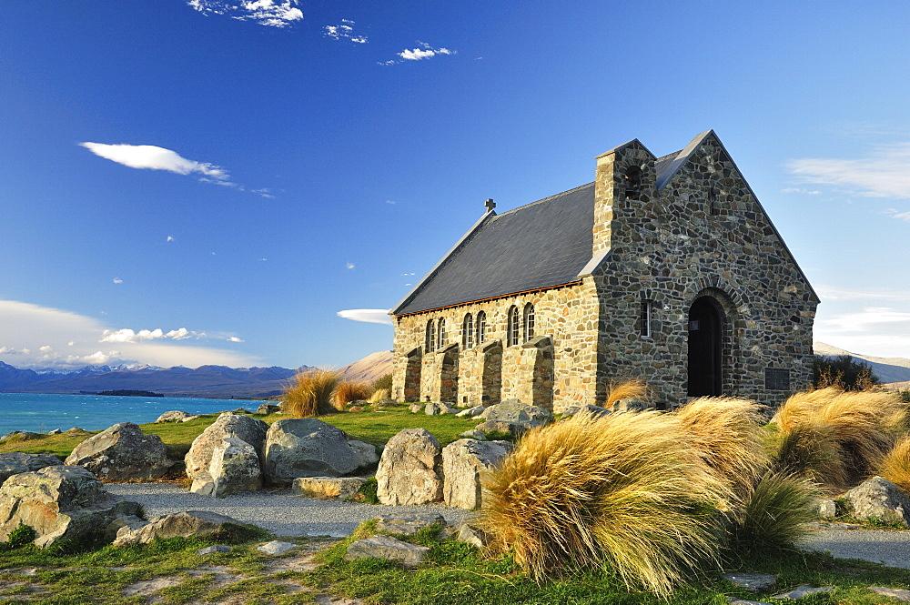 Church of the Good Shepherd, Lake Tekapo, Canterbury, South Island, New Zealand, Pacific