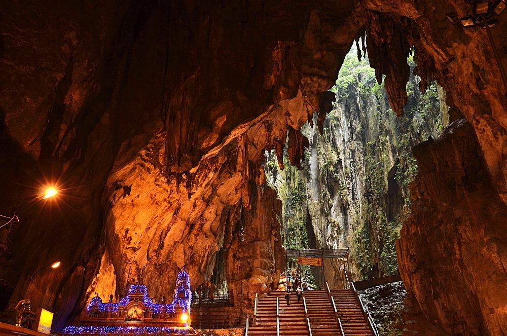 Batu Caves, Hindu Shrine, Selangor, Malaysia, Southeast Asia, Asia