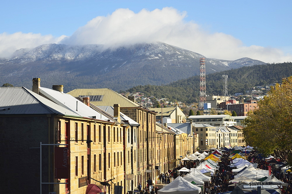 Salamanca Market, Hobart, Tasmania, Australia, Pacific