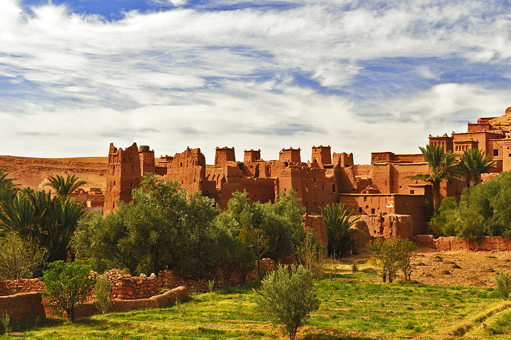 Kasbah of Ait-Benhaddou, UNESCO World Heritage Site, Morocco, North Africa, Africa