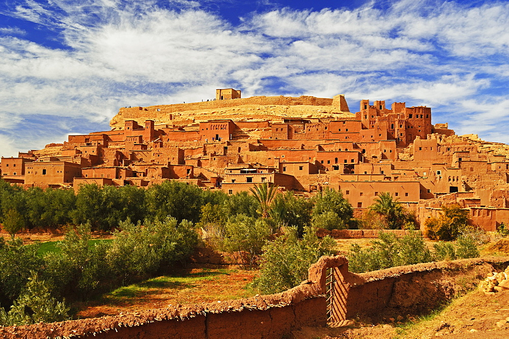 Kasba of Ait-Benhaddou, UNESCO World Heritage Site, Morocco, North Africa, Africa