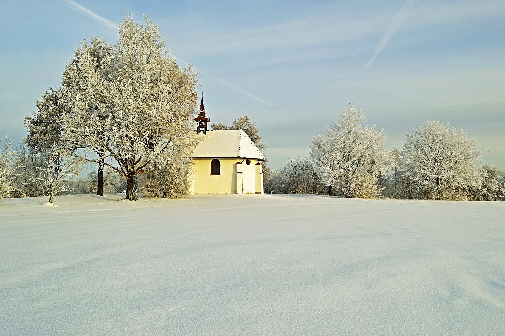 Chapel, near Villingen-Schwenningen, Schwarzwald-Baar, Baden-Wurttemberg, Germany, Europe