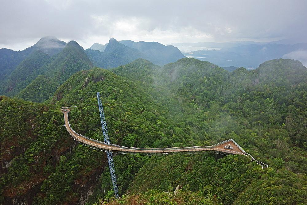 Skywalk, Gunung Machincang, Pulau Langkawi (Langkawi Island), Malaysia, Southeast Asia, Asia