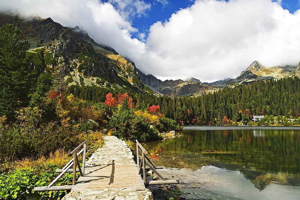 Popradske Pleso, High Tatras (Vysoke Tatry), Slovakia, Europe