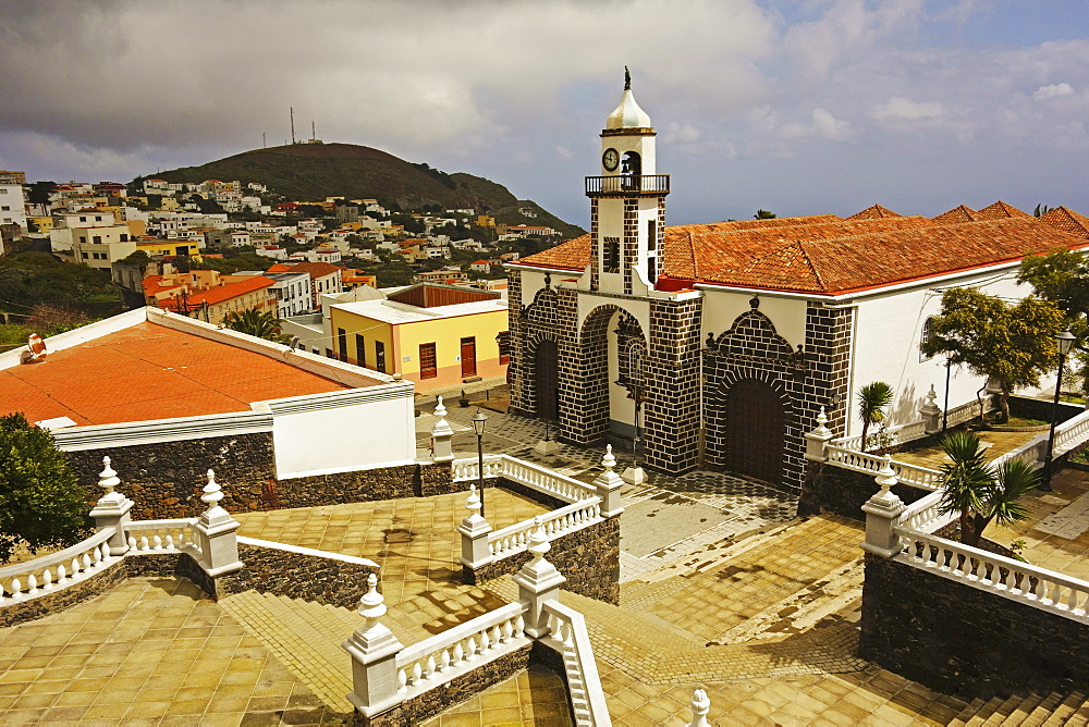 Iglesia Santa Maria de la Concepcion, Valverde, El Hierro, Canary Islands, Spain, Europe - 756-2810