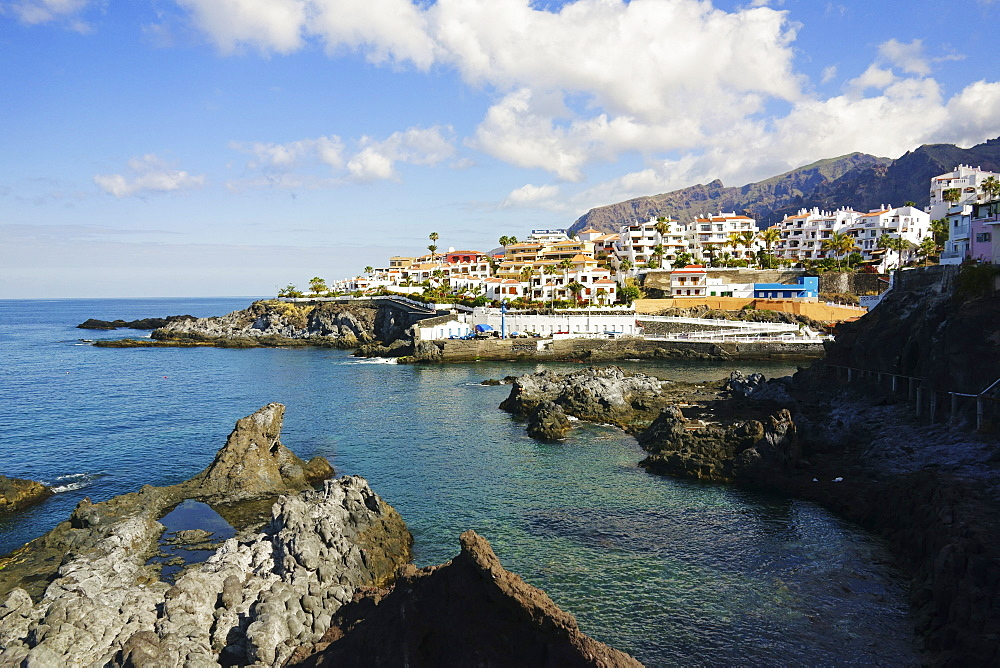 Puerto de Santiago, Tenerife, Canary Islands, Spain, Atlantic, Europe - 756-2816
