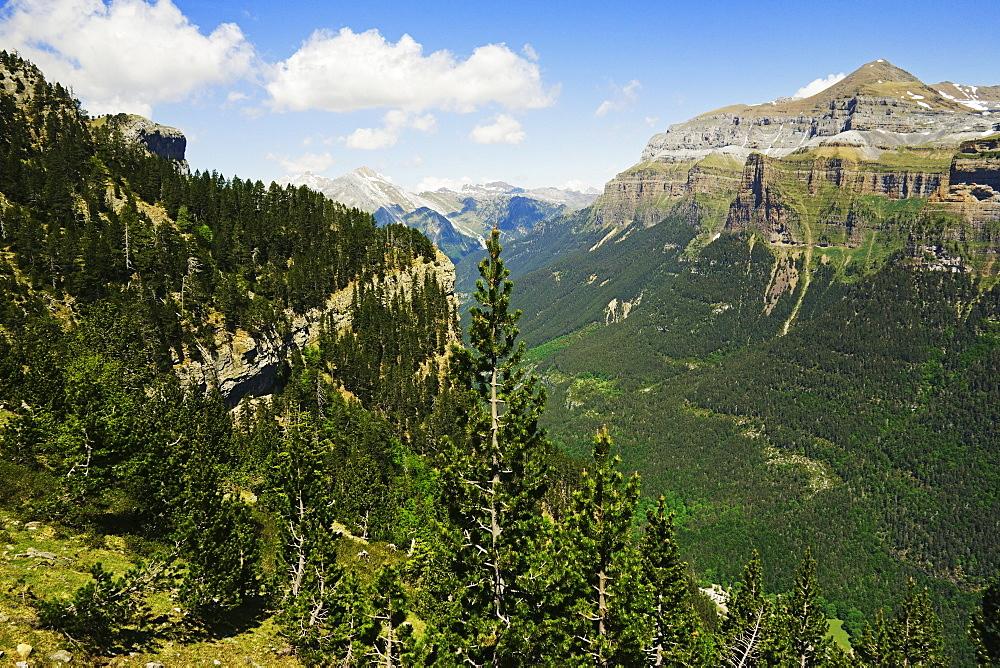 Valle de Ordesa, Parque Nacional de Ordesa, Central Pyrenees, Aragon, Spain, Europe - 756-2837