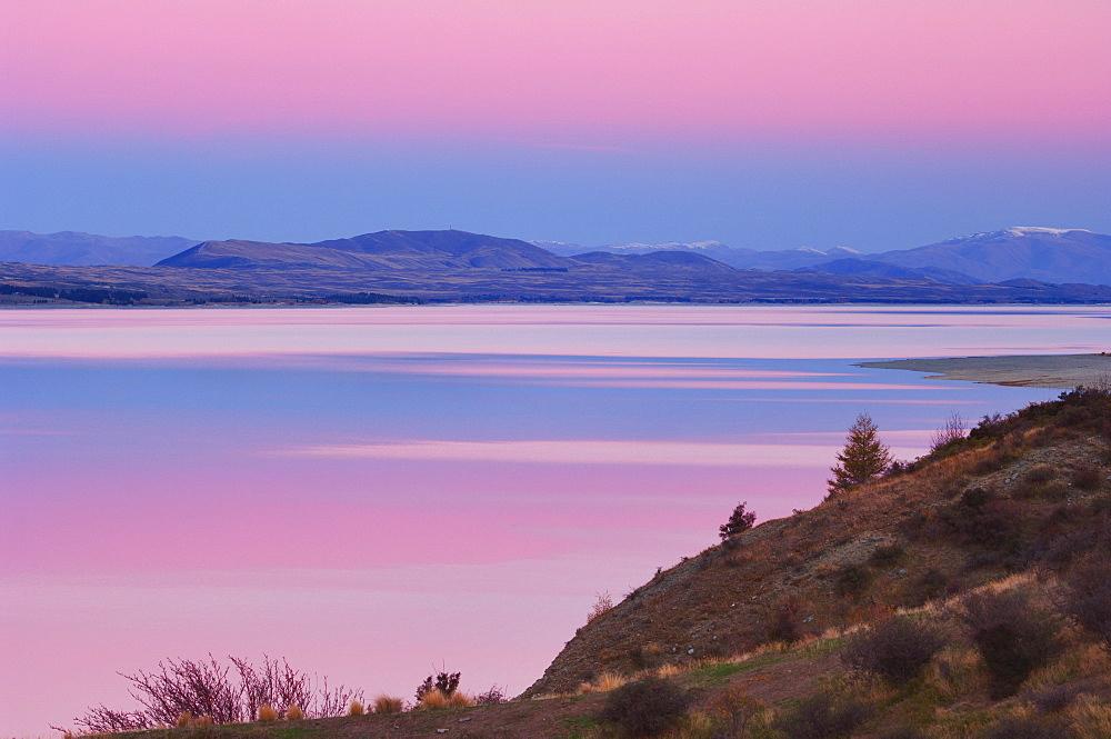 Lake Pukaki, Canterbury, South Island, New Zealand, Pacific