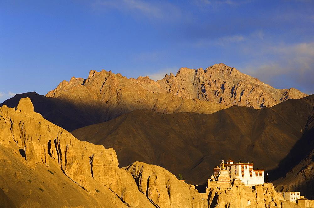 Lamayuru gompa (monastery), Lamayuru, Ladakh, Indian Himalayas, India, Asia - 756-497