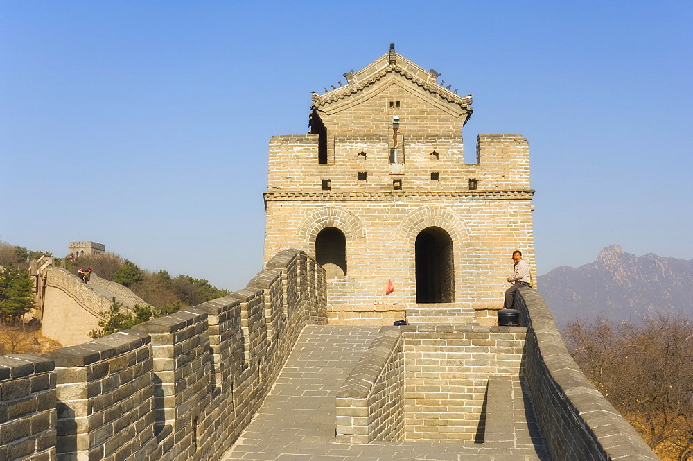 The Great Wall of China, UNESCO World Heritage Site, Badaling, China, Asia