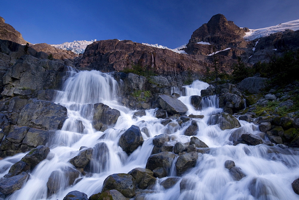 Landscape, Slalok Mountain, Joffre Lakes Provincial Park, British Columbia, Canada, North America - 757-222