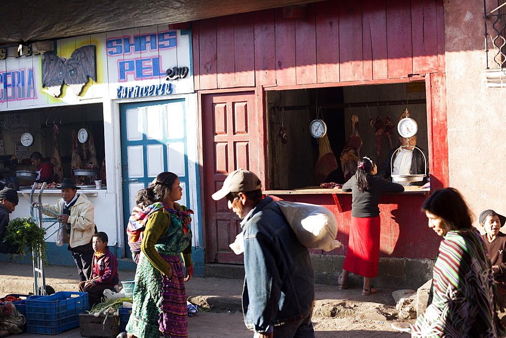 Market, Nebaj, Guatemala, Central America
